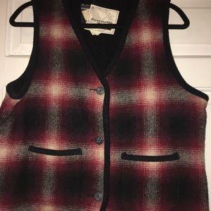 Eddie Bauer NWT Vintage Reversible Vest